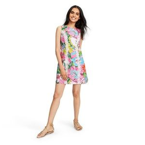 Lilly Pulitzer Nosey Posie Sleeveless Shift Dress